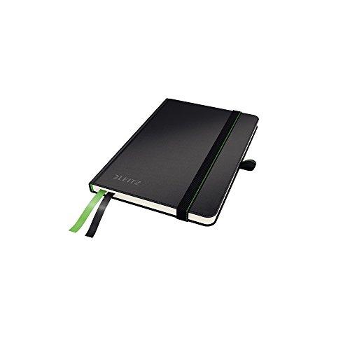 Leitz 44790095 Complete Notizbuch (A6, kariert) schwarz
