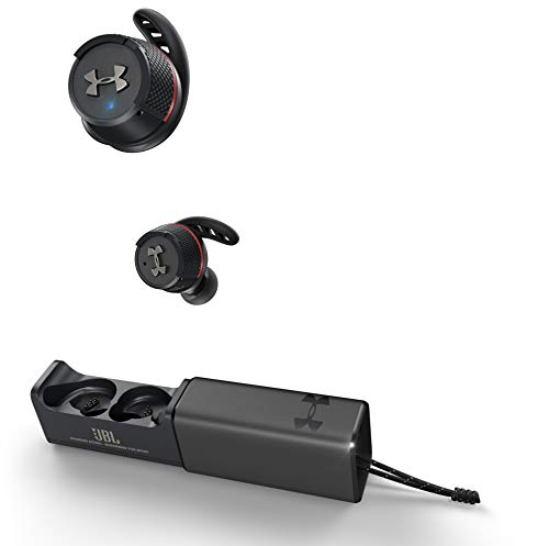 JBL 完全ワイヤレスイヤホン UA SPORT WIRELESS FLASH /IPX7/Bluetooth対応 アンダーアーマー ブラック UAJBLFLASHBLK 【国内正規品/メーカー1年保証付き】
