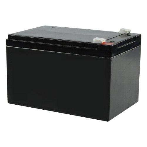 Batteria ricaricabile ermetica al piombo 12V Volt 12Ah ideale per UPS - Gruppi di continuità - Pannelli fotovoltaici - compatibile con Peg Perego