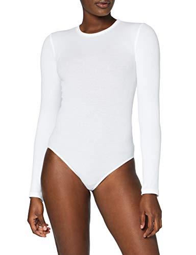 Marca Amazon - MERAKI Trajecito de Algodón Mujer, Blanco (White), 3XL, Label: 3XL