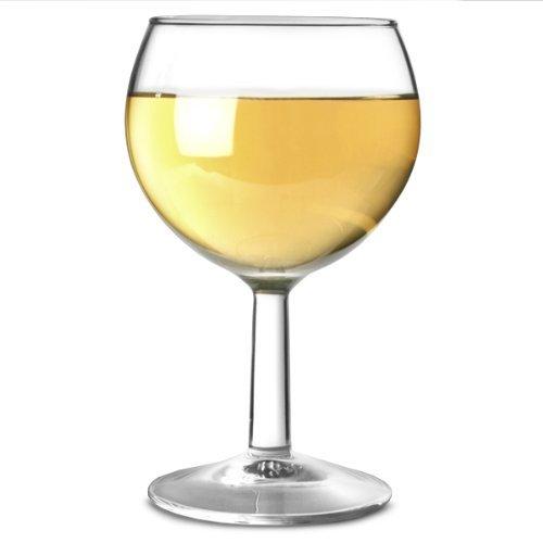 Arcoroc - Calici da vino tipo Ballon, in vetro temprato rinforzato, 250 ml, confezione da 12