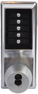 Kaba 1021B-26D-41 Cylindrical Pushbutton Knob Bic Ko Us26D, Satin Chrome