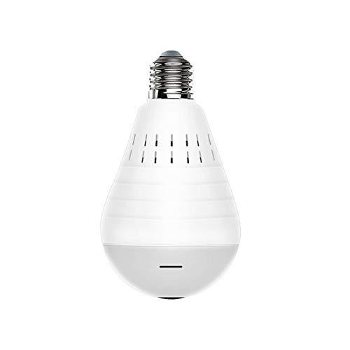LINYANMY DAGRO EC75D-P12 960P WiFi impermeabile IP66 telecamera di sicurezza CCTV visione notturna con luce e luce bianca lampadina panoramica VR Smart