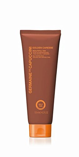 Germaine de Capuccini Golden Caresse. Beautiful TanLeche Autobronceadora