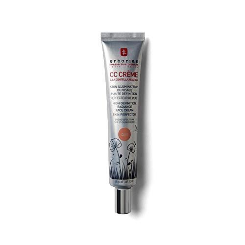 Erborian CC Creme HD á la Centella Asiatica SF45 15 ml unisex, intensive Feuchtigkeitspflege für das Gesicht 45 ml, 1er Pack (1 x 0.074 kg)