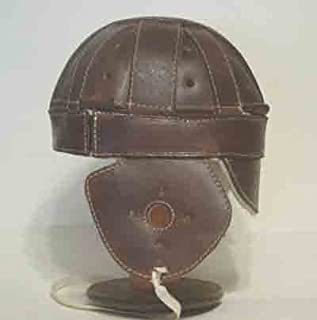 Dog-Ear Leather Football Helmet (1915-1920s)