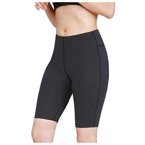 ღLILICATღ Leggins Mujer, Mallas Fitness Push Up Pantalones de Cintura Alta Elásticos Deporte Running Yoga Pants