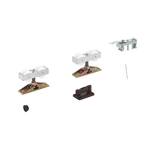 Hafele Sliding Door Hardware Hawa Junior 80/Z, 940.80.001, Without The Upper Track, Easy Installation