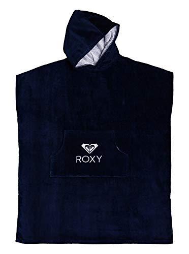 Roxy Women's Stay Magical - Surf Poncho, Mood Indigo, One Size