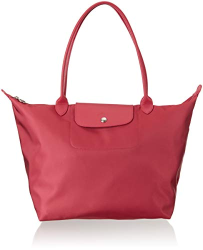 LONGCHAMP Large Le Pliage Neo Nylon Tote, Raspberry
