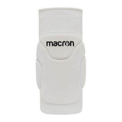 Macron Anice - Set di 2 ginocchiere per pallamano, pallavolo o pallavolo, colore bianco, taglia...
