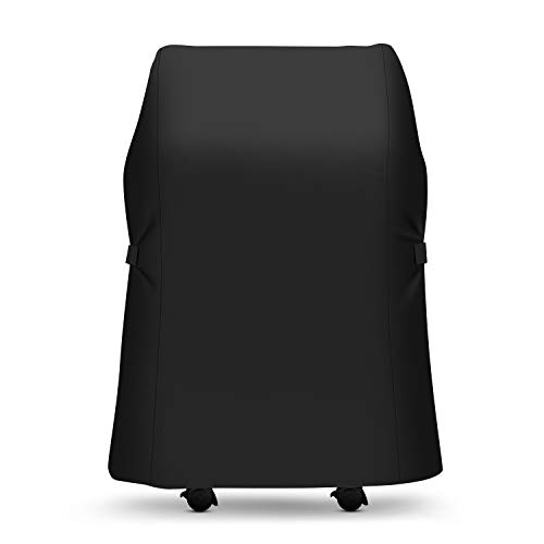 SunPatio 7105 Grill Cover for Weber Spirit 210 Series Grills, Outdoor Heavy Duty Waterproof BBQ Cover, 30 Inch 2 Burner Gas Grill Cover, Weather Resistant & FadeStop, Black (Not Fit Spirit II E-210) Covers Grill