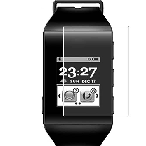 Vaxson 3 Unidades Protector de Pantalla, compatible con ZTE BlueWatch smartwatch Smart Watch [No Vidrio Templado] TPU Película Protectora