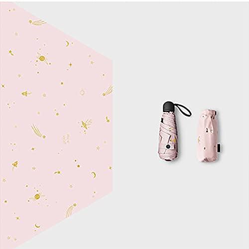 EAN Kleiner Mini-Regenschirm Mit Shell, Leichten Und Kompakten Design, Geeignet Für Reisen Und Tragbare Sonnenschirme Im Freien(Color:Ö)