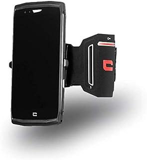 Funda de Brazo Profesional Brazalete Neopreno Deporte Correr Bici Andar Ciclismo Gimnasio para Motorola Moto G8 Power DFV mobile - Negra 2020