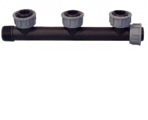 "TAVLIT PP Swivel Multi-T-Verteiler 1\"" 10 bar Verbinder Verschraubung 3-fach"