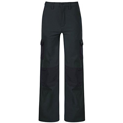 Regatta Pantalon Junior Softshell Trousers Mixte Enfant, Navy, FR : XL (Taille Fabricant : 9-10)