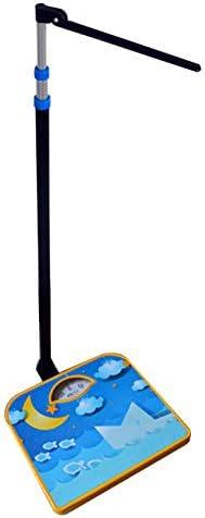 HMM Balanza De Médico Mecánico, Balanza De Haz Digital,báscula De Baño De Precisión,medición De La Altura del Niño, Carcasa De Metal Resistente, Diseño De Patrón De Dibujos Animados, Sin Batería
