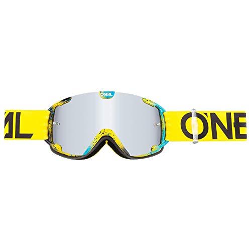 O'NEAL B30 Ink Youth Kinder Goggle MX DH Brille gelb/blau/klar Oneal