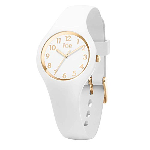 Ice-Watch - ICE glam White Gold - Women's wristwatch with silicon strap - 015341 (Extra small)