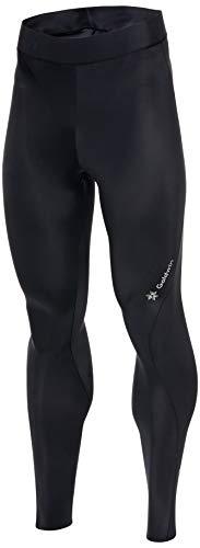 [シースリーフィット] スポーツタイツ インスピレーションロングタイツ コンプレッションタイツ メンズ スパッツ 段階着圧 むくみ軽減 UVカット ブラック S
