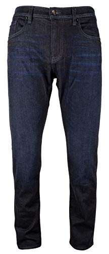 Armani Exchange Men's J13 Slim Fit 5 Pocket Dark Blue Jean-I-30R Armani Five Pocket Jeans