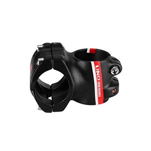 BESNIN Bike Stem MTB Downhill Bike Bicycle Stem 31.8 35/45mm 0 Degree red for Downhill Sports (0° 31.8 35mm red)