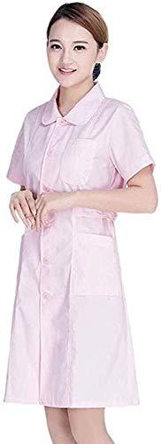 Miaoao-HL Womens Scrubs Uniform/,Verpleging Top/Gezondheid Schoonheid & Spa/Werkkleding/Stand Collar Schoonheid Tuniek