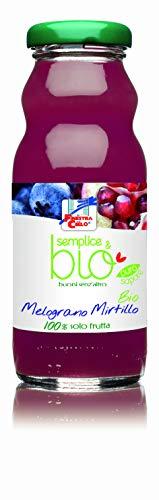 LA FINESTRA SUL CIELO Semplice&Bio Mela Melograno Mirtillo Bio - 200 ml