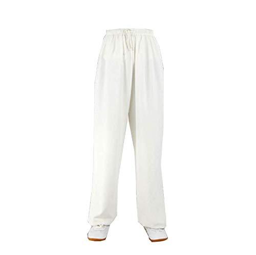 GHJUH Pantalones de Artes Marciales Tai Chi Pantalones de Entrenamiento Tradicional Taiji Kung Fu Wing Chun Shaolin Clsico Ropa Unisex