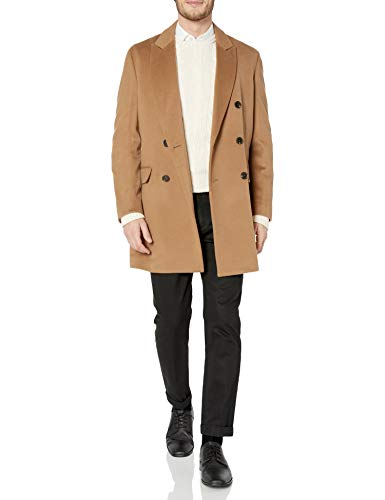 Hart Schaffner Marx Men's Wool Blend Coat, Brown, 40R