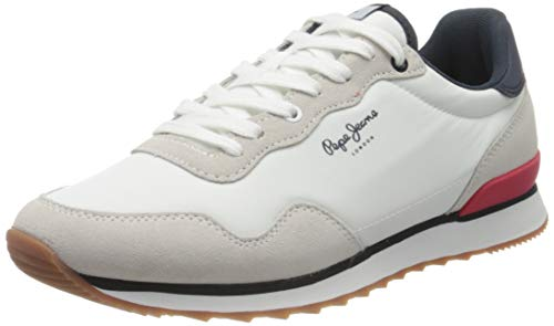 Pepe Jeans Cross 4 Basic, Zapatillas para Hombre, Color Blanco...