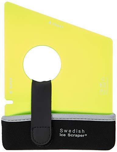 Swedish Ice Scraper ICE02 ORIGINAL Yellow with Holder