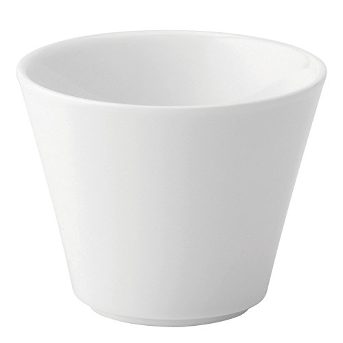 Utopia Anton Noir en porcelaine fine Z03176–000000-b01006 Vento côtés droits évasé Bol, 6 G (lot de 6)