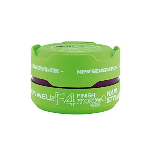 3 x Newwell F4 Finis Extrem-Starke Haarwax (Grün)