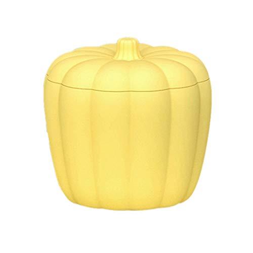 XIAOYONG Silikon-Eiskübel in Kürbisform, Eiskübel mit Deckel, tragbarer Eiswürfelbereiter-Eimer, kleine Eiswürfelform zum Abkühlen von Champagner-Whisky-Bier-Softdrink