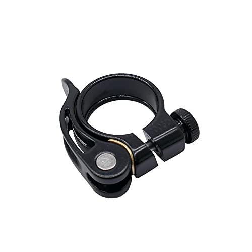 P4B | Sattelklemme für Ihr Fahrrad - 34, 9 mm | Mit Schnellspanner | Werkzeuglose Montage | Fahrradsattel Befestigung