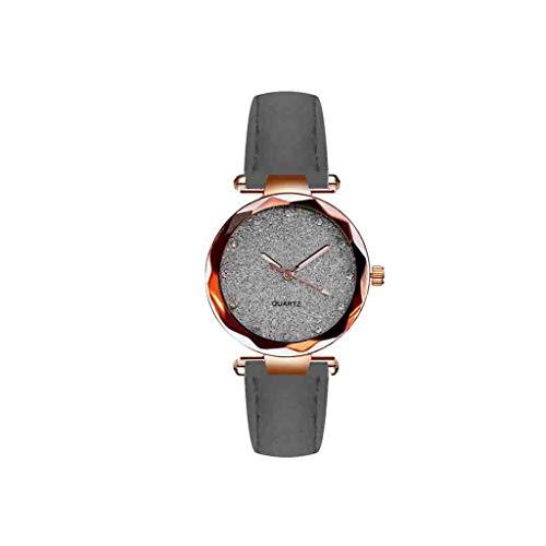 Relojes Para Mujer Reloj de cuarzo de oro de la moda de las señoras Relojes de cuarzo de la rosa Relojes de la moda del cinturón de la femenina para el reloj de pulsera de las mujeres Relojes Decorati