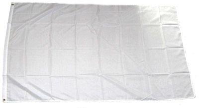 Fahne / Flagge Weiß zum Bemalen NEU 60 x 90 cm Fahnen