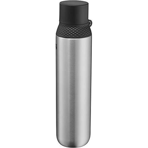 WMF Waterkant Iso2Go Trinkflasche Edelstahl 750ml, Thermosflasche, Isolierflasche, Kohlensäure geeignet, AutoClose-Verschluss, auslaufsicher, BPA-frei