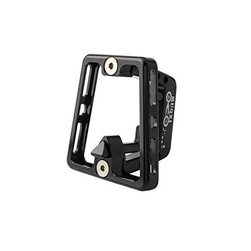 LNIM Soporte de bloque de soporte delantero, aleación de aluminio plegable para bicicleta, soporte de bolsa con tornillo, para bicicleta BROMPTON