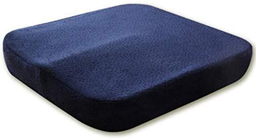 JISHIYU-Q El Amortiguador del sofá del Asiento de Coche de la Memoria de algodón sede de la Oficina de conducción de Coches Cojín Amortiguador Hermoso Butt Silla Cojín Engrosamiento