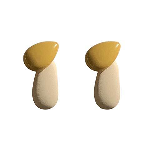 Xlin Earrings, Sweet And Lovely, Hanging Matte, Colorful Earrings, Small Cozy Earrings (Color : Ear Studs)
