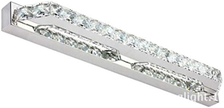 WYFLY Kristallspiegel Scheinwerfer Wandleuchte Led Badezimmerspiegellampe 10w (warmes Licht), Lnge 40 cm X Hhe 5 cm