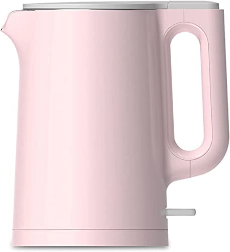 The electric kettle automatically shuts off the boil-to-dry protection line and stores it without BPA. Energy saving, stainless steel fast boiling pot kettle. Easy to clean. Automatic shutdown, pink
