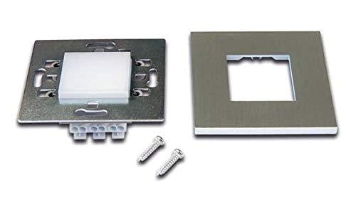 Hera LED-Wall F 20202720208 ww edelstahloptik Decken-/Wandleuchte 4051268155465