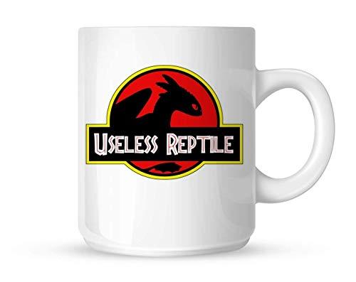 Tandloos hoe je je draak nutteloze Reptiel Jurassic Park mok witte mok te trainen 10oz