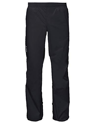 VAUDE Herren Men's Drop Pants II Hose, Black Uni, XL-Long
