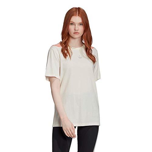 adidas Originals Women's T-Shirt Chalk White XX-Small