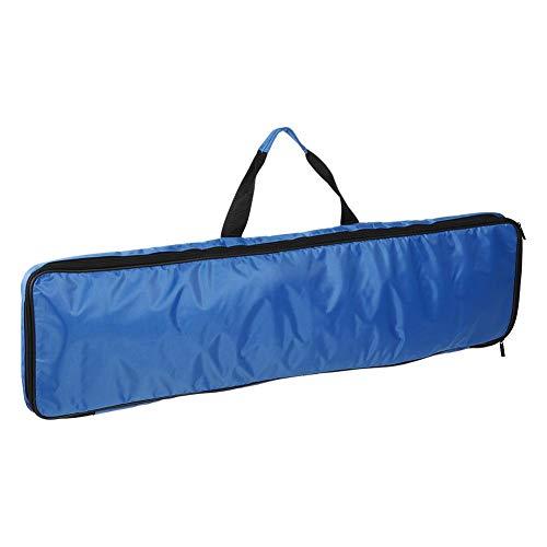 Vbest life Polyester Paddleboard Bag DREI Abschnitte Kanu Kajak Paddle Aufbewahrungstasche Tragbare Paddle Tragetasche(Blau)